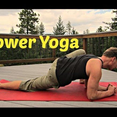 8 min Power Yoga for Flexibility & Strength Workout #poweryoga