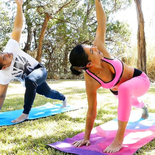 Beginners Yoga Workout for Men & Women: Flexibility, Strength, Total Body Stretches at Home Exercise