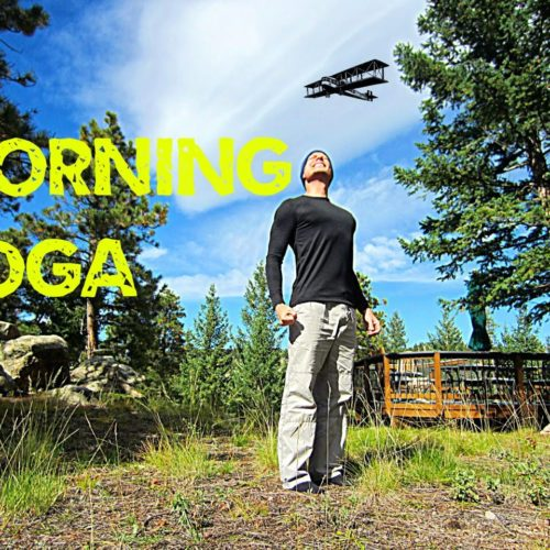 Morning Yoga for Beginners – 12 min Stretch Routine #morningyoga
