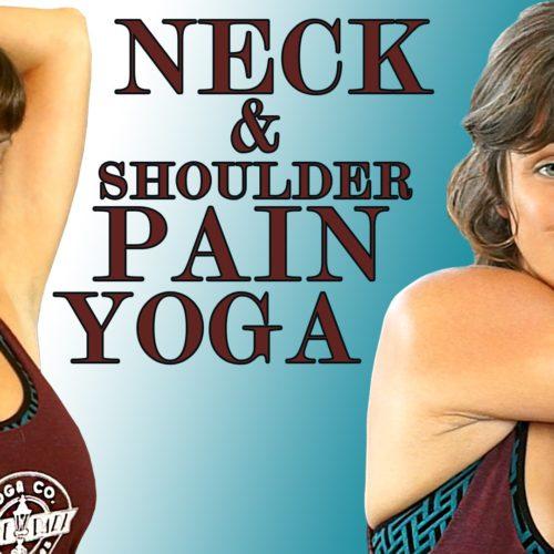 Neck & Shoulder Pain Relief Exercises & Yoga Stretches Jen Hilman