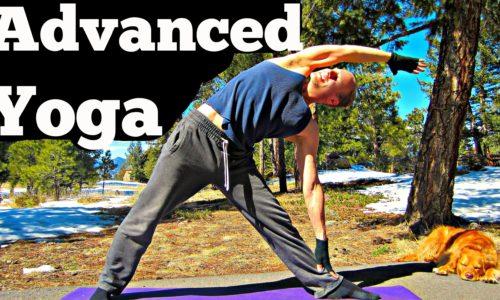 20 Min Yoga for Men Advanced Strength Workout – Killer Power Yoga for Women too! Hot #yogaformen