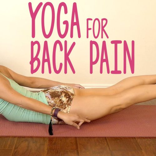 Yoga For Fast Back Pain Relief Exercises & Stretches – Easy Beginners